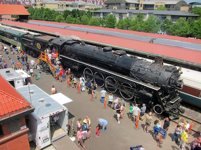 Spokane, Portland and Seattle steam locomotive number 700
