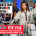 Five Star Textile Collection Showcased at Pakistan Fashion Week 6 UK