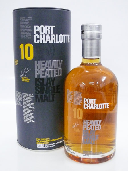 Whisky tasting whisky review bruichladdich port - Bruichladdich port charlotte heavily peated ...