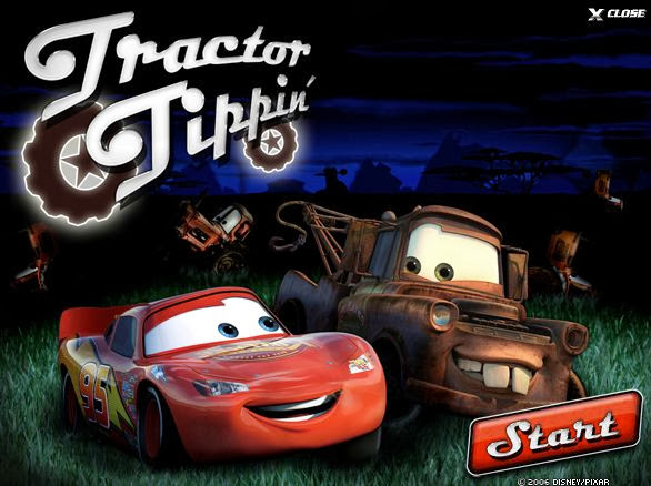 Tractor From Cars : Disney cars tractor tipping car interior design