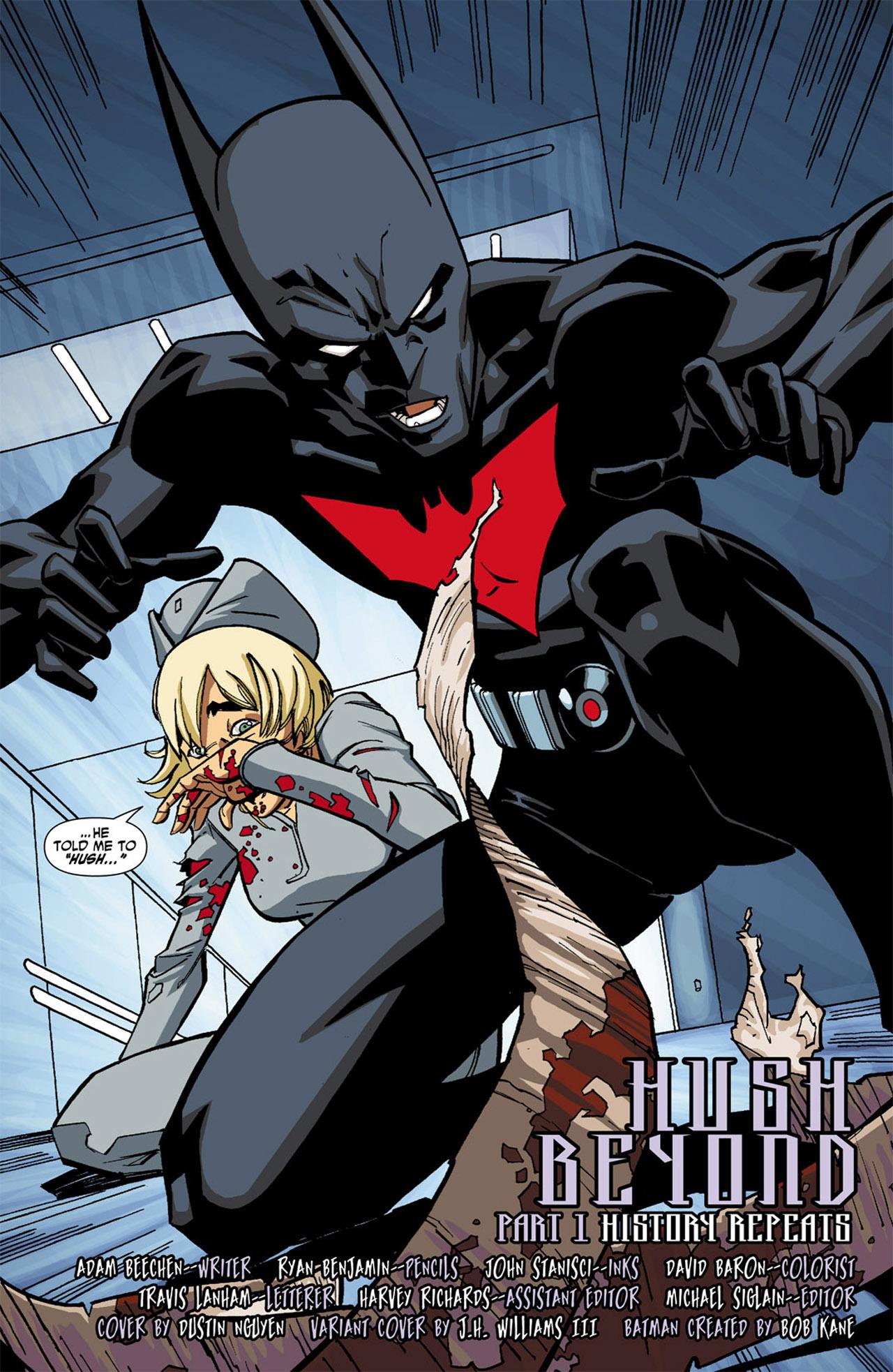 Batman Beyond (2010) Issue #1 #1 - English 24
