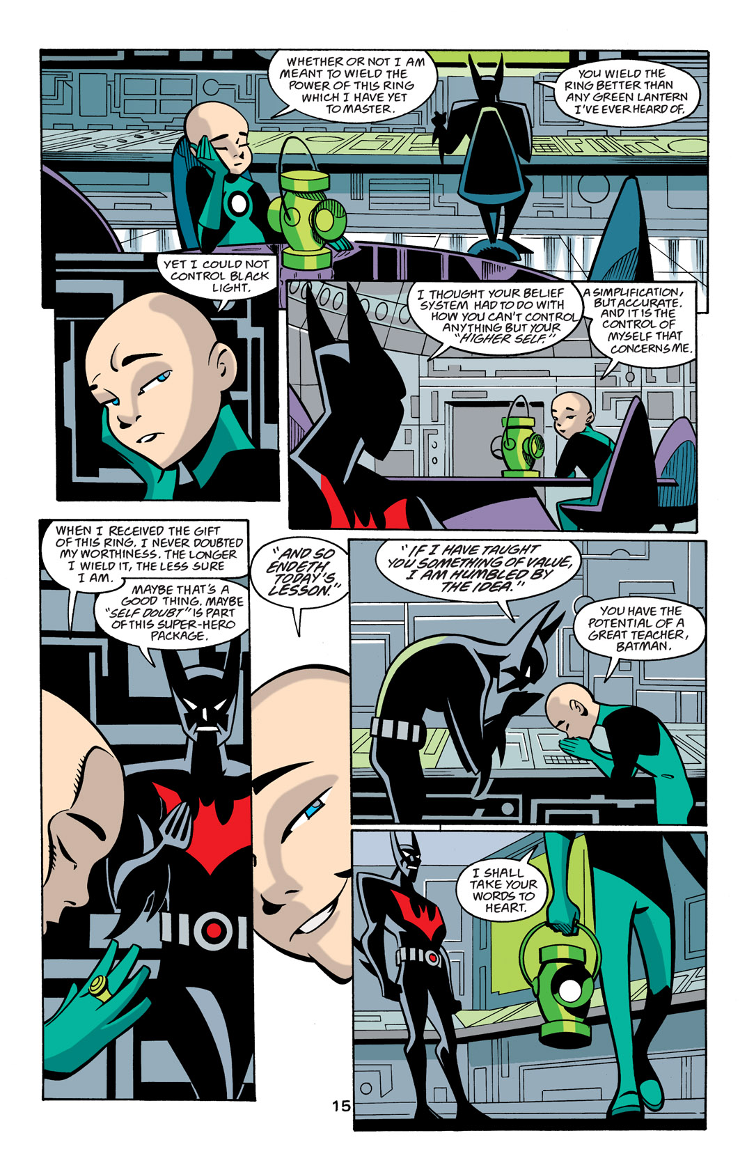 Batman Beyond [II] Issue #22 #22 - English 16