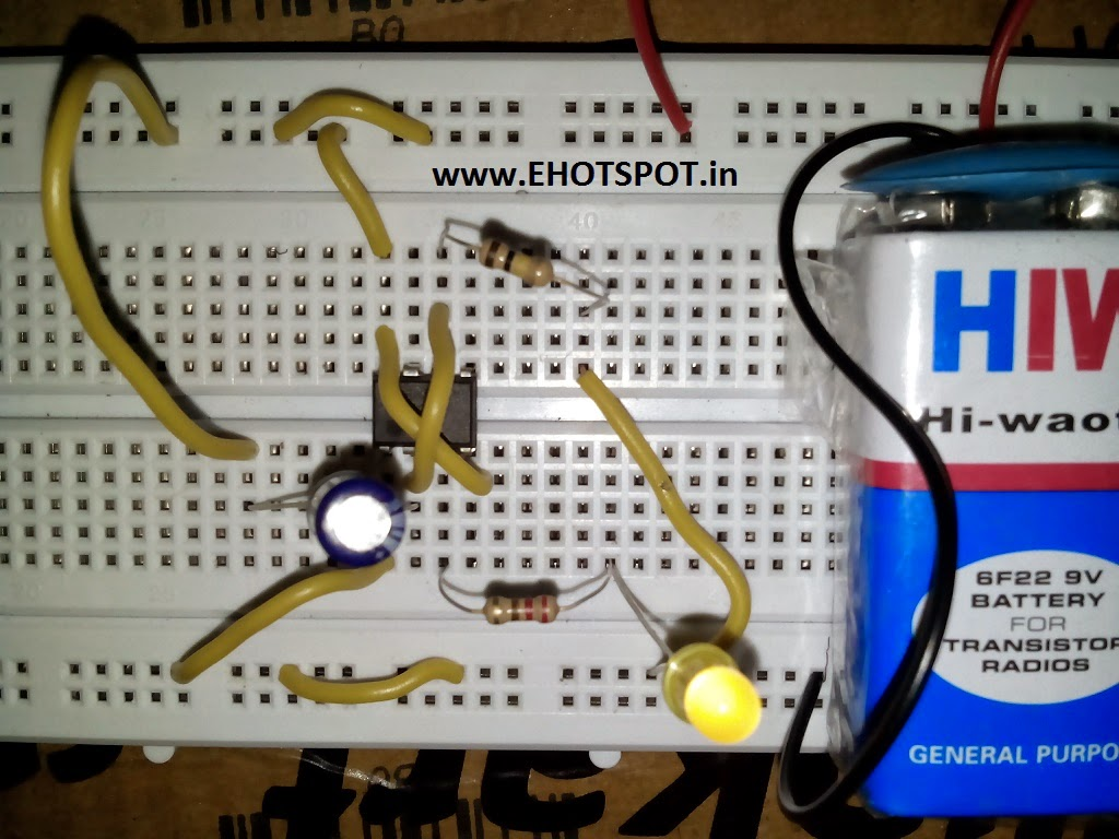 Electronics Hotspot 555 Everything About 3v Led Chaser Audioguru General There Are Many 9v Circuits That 6one 9 12v Power Supply
