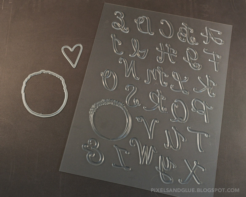 Lindsay Letters Letterpress Plate and Craft Die for Studio Calico