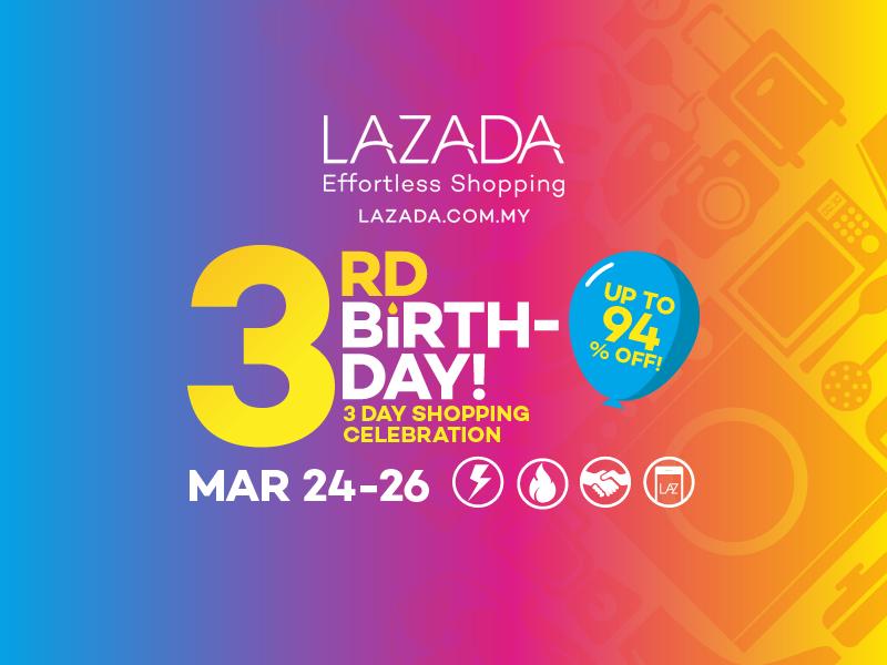 Lazada 3rd Birthday