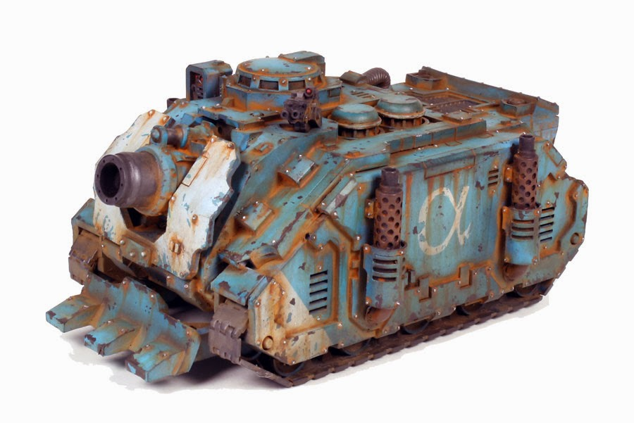 Pre Heresy Alpha Legion Deimos Pattern Vindicator