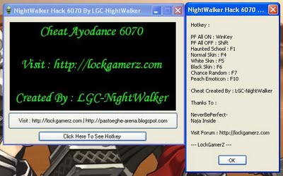 Cheat Ayodance 6 September 2011 v6070 Full Hack