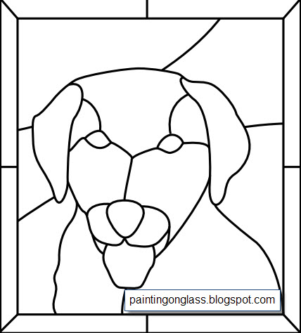 Dogs | Free Stained Glass Patterns