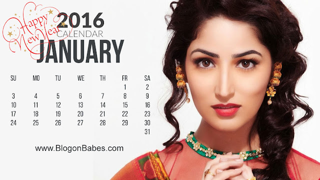Yami Gautam January 2016 Wallpaper