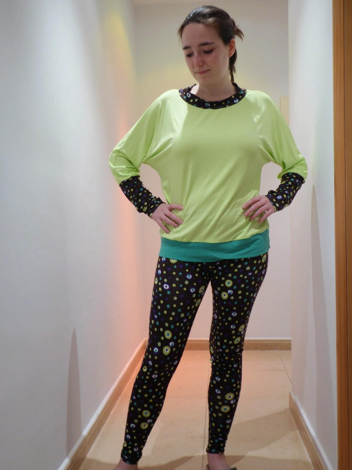 modistilla de pacotilla tela quedada blogger barcelona tela rums 50 punto leggins masustak camiseta osha mi rincon de mariposas