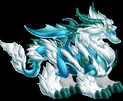 imagen del dragon ventisca mistica