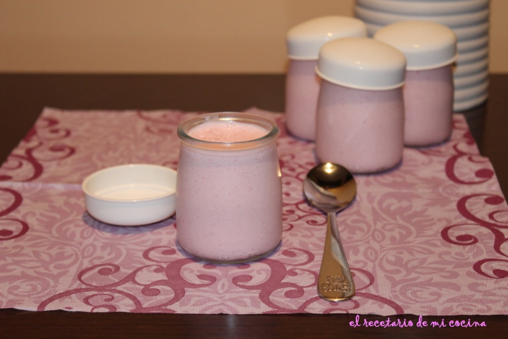 El recetario de mi cocina mousse de fresa - Mousse de fresa ...