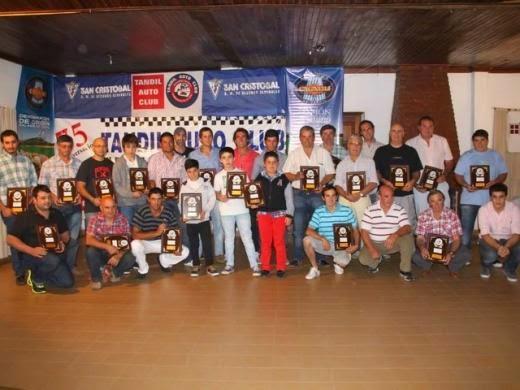 Pilotos destacados por el Tandil Auto Club