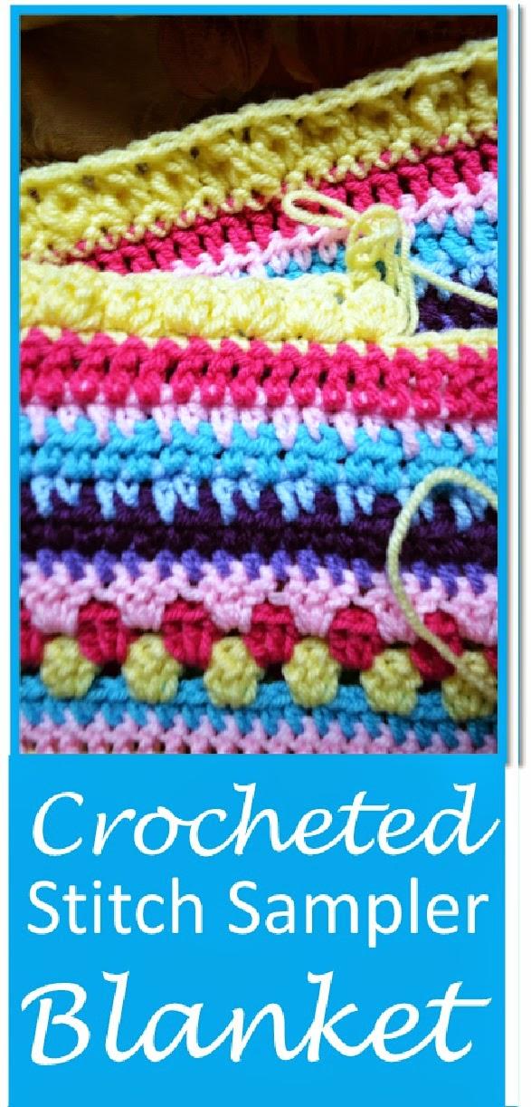 Let It Shine: Crocheted Stitch Sampler Blanket