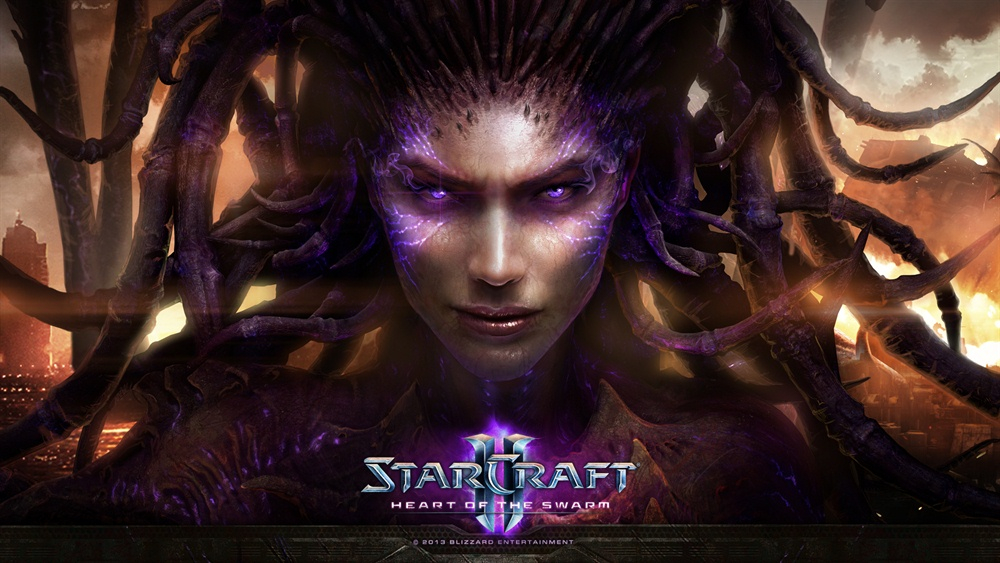 StarCraft 2 Heart of the Swarm Download Poster