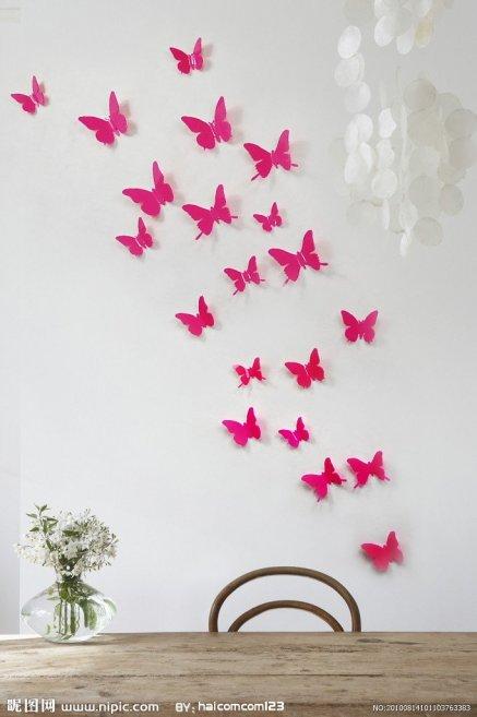 Mariposas para decorar pared imagui - Mariposas para pared ...