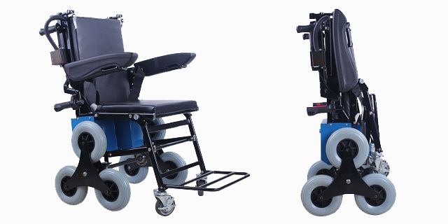 Electric stair climbing wheelchair vs wheelchair lift for Motorized chair for stairs cost