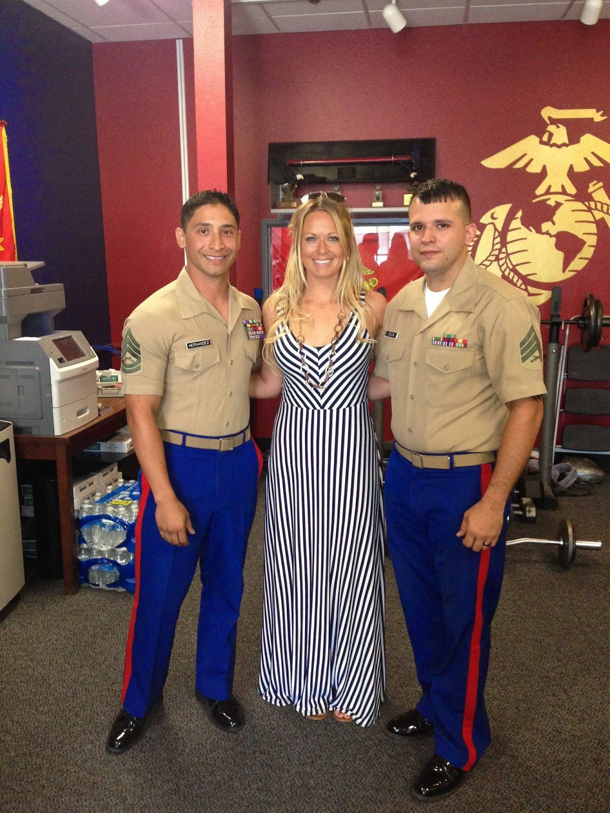 a week with the united states marine corps at mcrd marine corps recruiting depot san diego ca