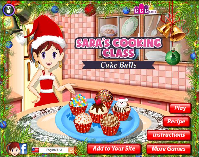 Η τάξη μαγειρικής της Σάρα