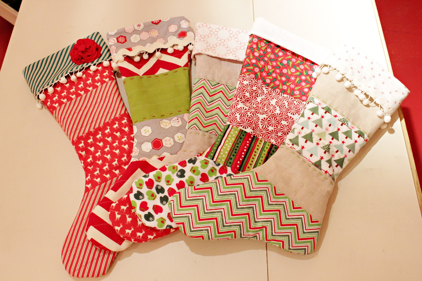 Handmade Christmas Stockings Handmade Christmas Stockings Stickpinbencom