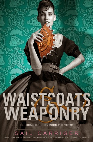 http://www.goodreads.com/book/show/20980648-waistcoats-weaponry