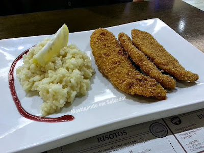 Terra Brasil na Salvador Restaurant Week 2015: Tilápia com Risotto de Limão Siciliano