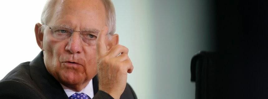 Ο Γερμανός υπουργός Οικονομικών Βόλφγκανγκ Σόιμπλε κάλεσε τα αντιμαχόμενα κόμματα στην Ελλάδα σε σύνεση.