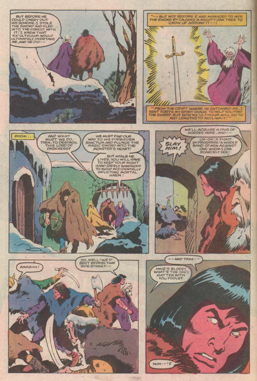 Conan the Barbarian (1970) Issue #170 #182 - English 7