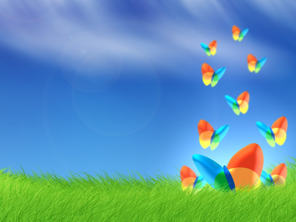 windows vista msn butterfly wallpaper