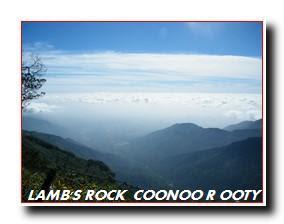 LAMB'S ROCK COONOOR OOTY
