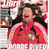 El descenso de River a la B Nacional, tema de todos los diarios argentinos
