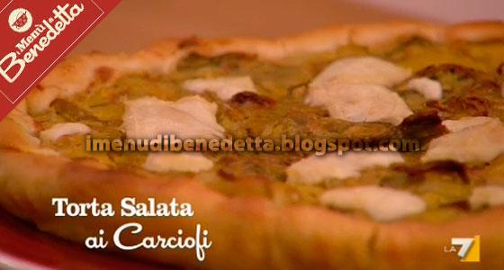 Torta Salata ai Carciofi di Benedetta Parodi