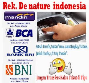 REKENING BANK DE NATURE
