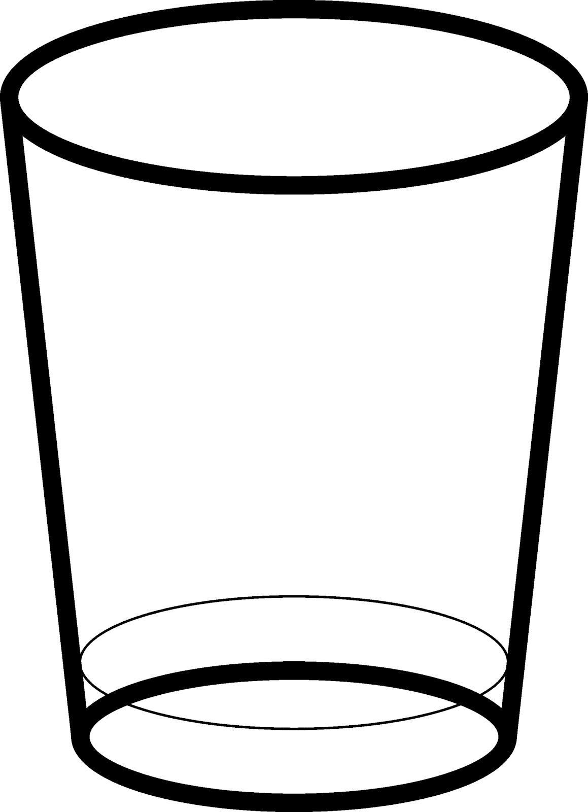 How to draw vaso de agua - Vaso con agua ...