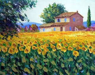 cuadros-decorativos-de-paisajes-y-flores-en-espatula