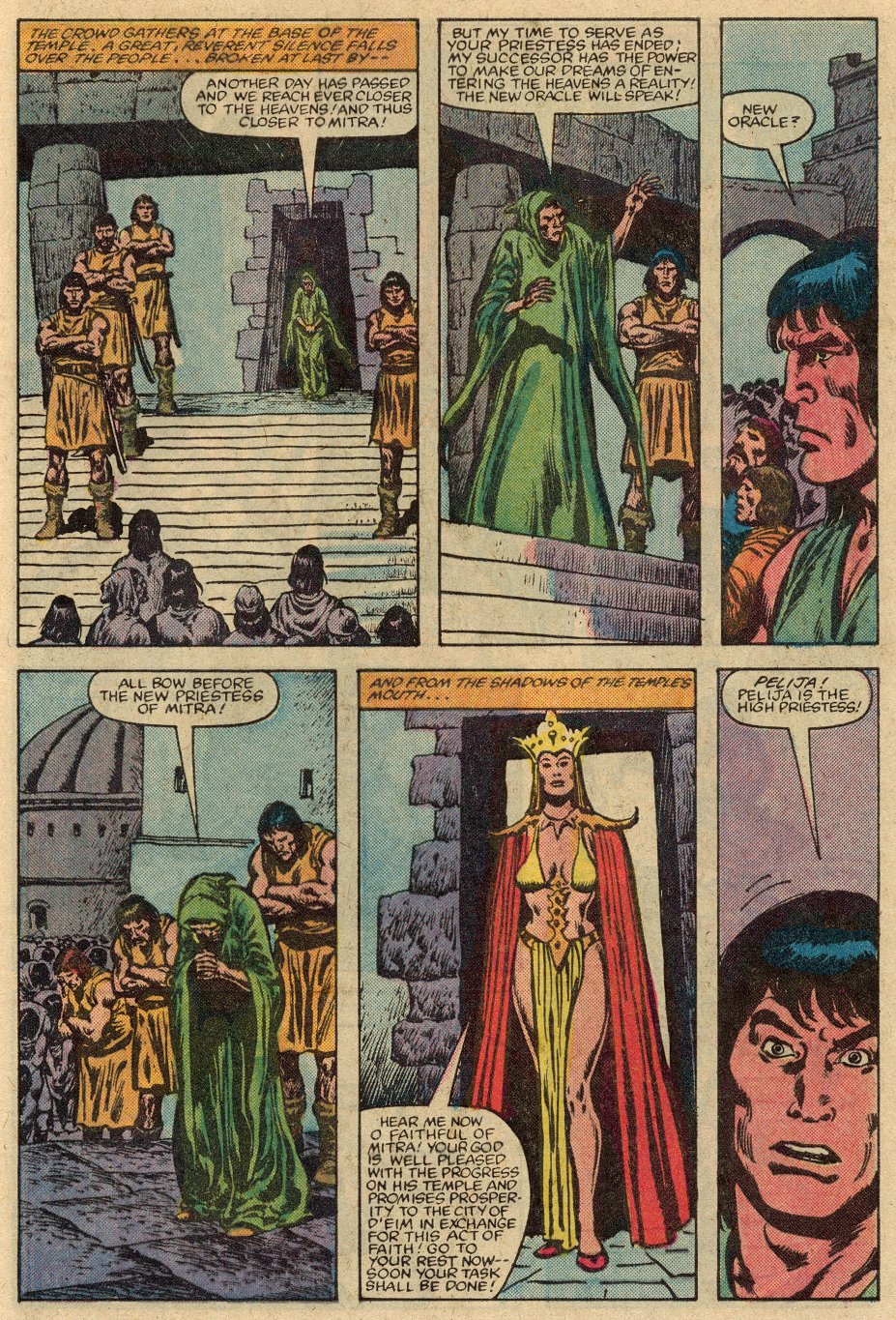 Conan the Barbarian (1970) Issue #147 #159 - English 8