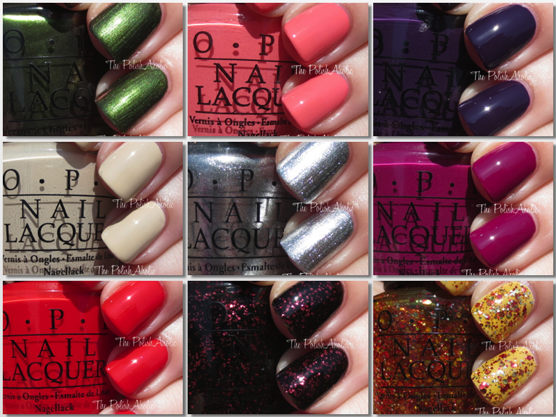 OPI Coca-Cola Collection Swatches  amp  ReviewOpi Coca Cola