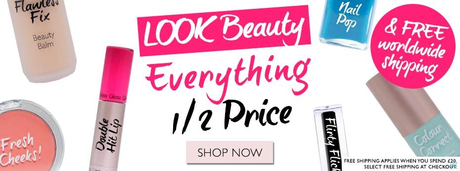 LOOK Beauty - Spedizione gratuita e sconto 50% su tutto