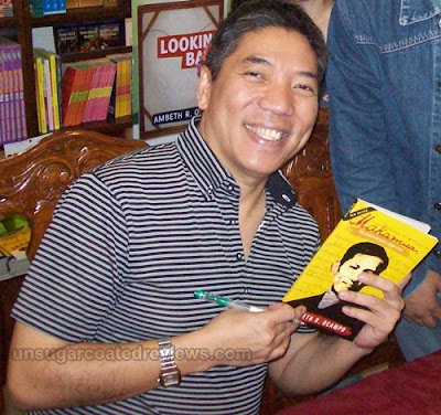 Ambeth Ocampo at the 32nd Manila International Book Fair