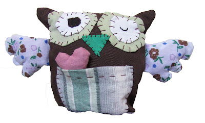 owl, stitch, sew, thread