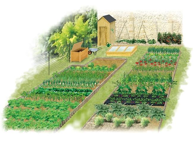 au tour du jardin: potager : travaux du mois de marsau tour du