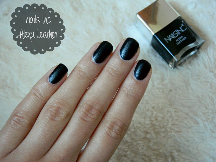 Love From Lisa Nails Inc Alexa Leather Nail Polish