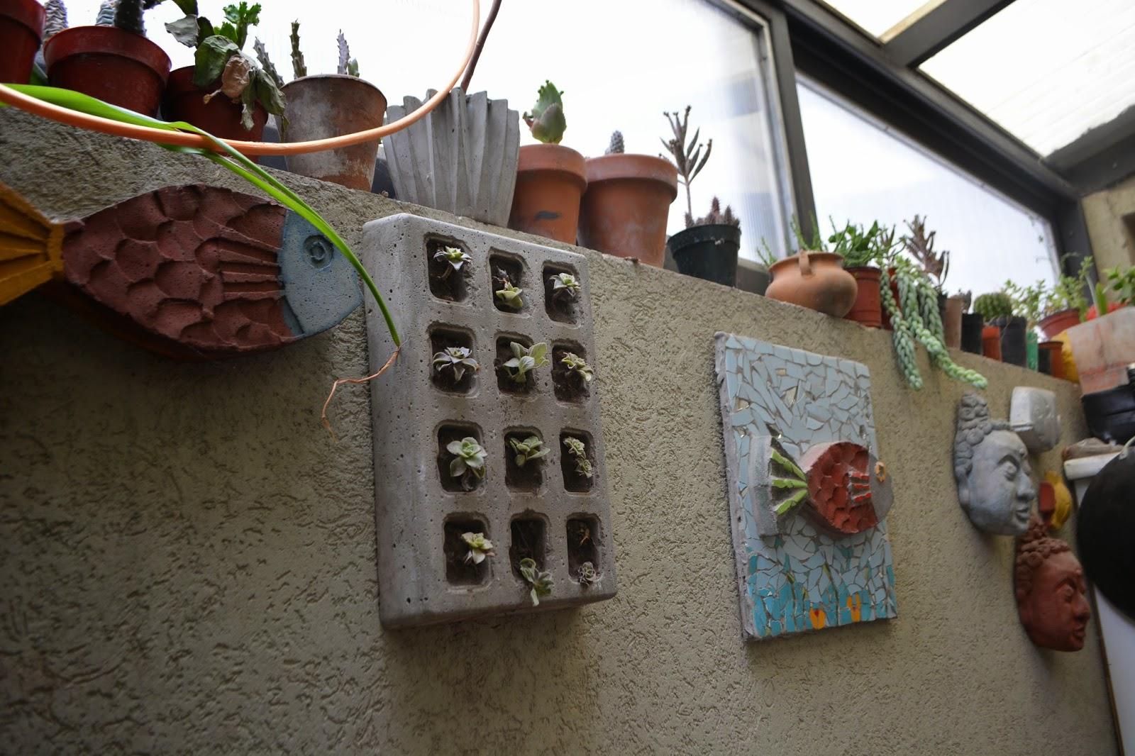 Jardin vertical miniatura