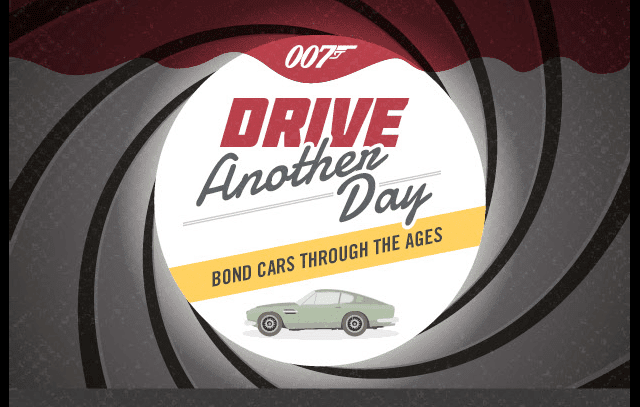 Drive Another Day Bond Cars Through Ages