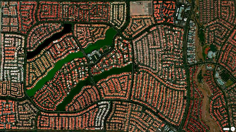 Foto mozzafiato: USA: Las Vegas, Nevada - Comunità del Desert Shore