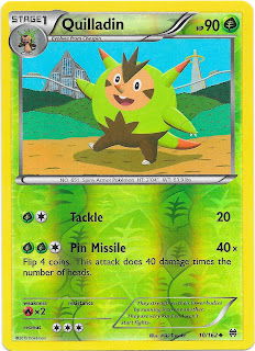 Quilladin BREAKthrough Pokemon Card