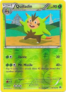 Quilladin BREAKthrough Pokemon Card