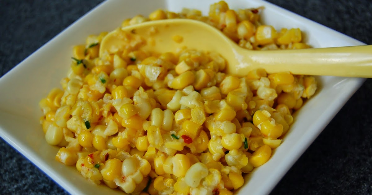 Daily*Dishin: Manchego Lime Roasted Corn