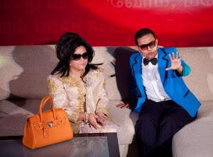 Datin Seri Rosmah Mansor peminat agong Oppa Gang Nam Style