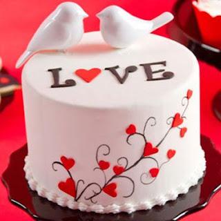 Regalos de San Valentín, Pasteles